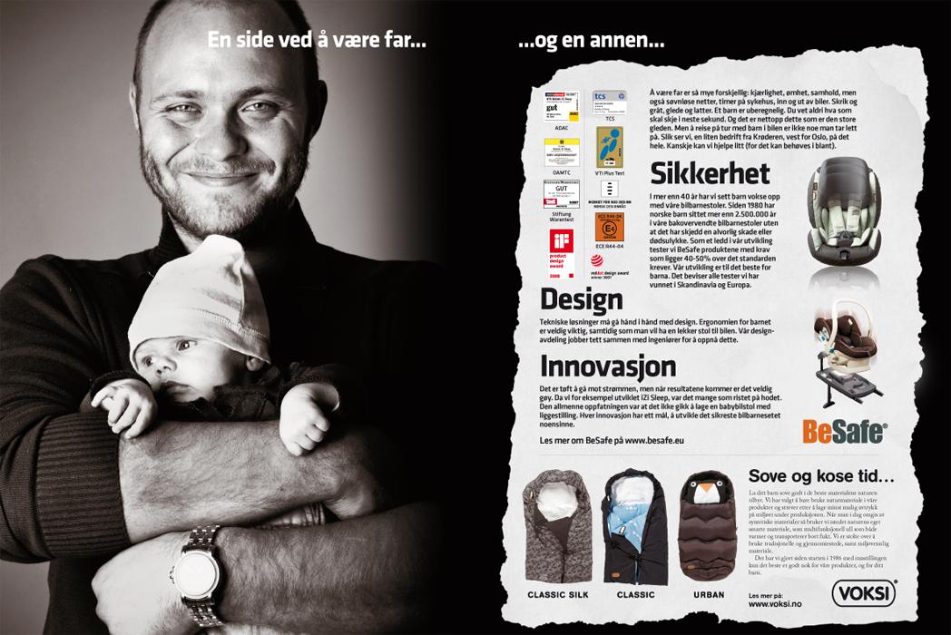 Annons för BeSafe