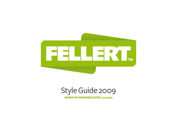 Omslag, Fellert styleguide